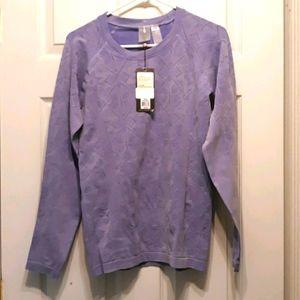 NWT Calia Seamless Violet Storm Long Sleeve Top